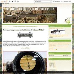 Tout savoir ou presque sur l'utilisation du réticule Mil-Dot - Le blog du tireur de précision