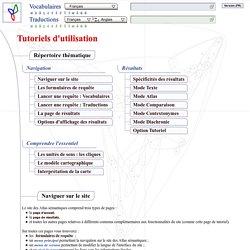 [ZZ] Tutoriels d'utilisation des Atlas sémantiques