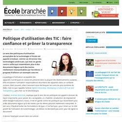 politique-dutilisation-des-tic-faire-confiance-et-proner-la-transparence/
