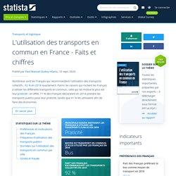 L'utilisation des transports en commun en France - Faits et chiffres