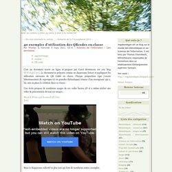 40 exemples d'utilisation des QRcodes en classe