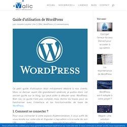 Manuel d'utilisation de WordPress : apprendre à utiliser le CMS