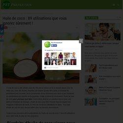 Huile de coco : traite la rosacée