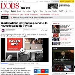 10 utilisations inattendues de Vine, la nouvelle appli de Twitter