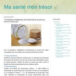 bicarbonate de soude contre piqûres d'insectes