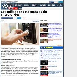 Ces utilisations méconnues du micro-ondes