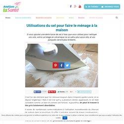 Utilisations du sel pour faire le ménage à la maison