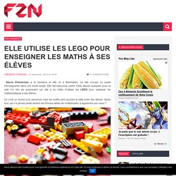 Elle utilise les LEGO pour enseigner les maths à ses élèves