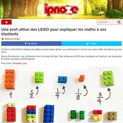 Une prof utilise des LEGO pour expliquer les maths à ses étudiants