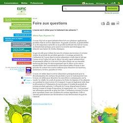 EUFIC - L'ozone est-il utilisé pour le traitement des aliments ?