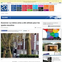 Essonne: La même arme utilisée pour les quatre meurtres
