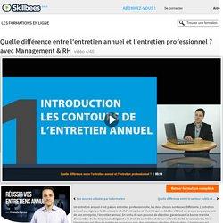 Différence entretien professionnel et entretien annuel
