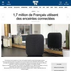 1,7 million de Français utilisent desenceintes connectées