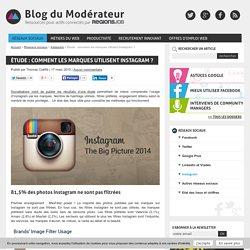 Étude : comment les marques utilisent Instagram ?