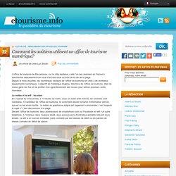 Comment les aoûtiens utilisent un office de tourisme numérique?