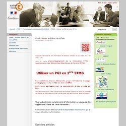 FOAD : Utiliser un PGI en 1ère STMG - Académie-Toulouse