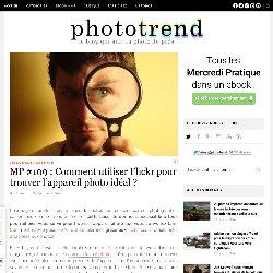 MP #109 : Comment utiliser Flickr pour trouver l'appareil photo idéal
