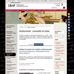 BNF : studio de création audiovisuelle