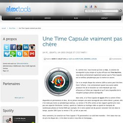 Utiliser Ubuntu pour faire une Time Capsule