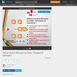 Utiliser les flux RSS pour sa veille : choisir son lecteur