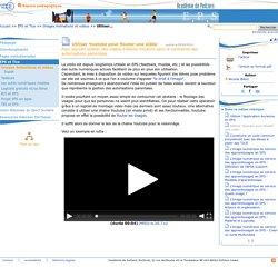 Utiliser Youtube pour flouter une vidéo- Education physique et sportive