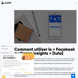 "Comment utiliser le ""Facebook audience insights"" [tuto]"