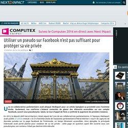 Utiliser un pseudo sur Facebook n'est pas suffisant pour protéger sa vie privée - Next INpact
