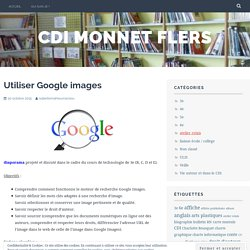 Utiliser Google images – cdi monnet flers