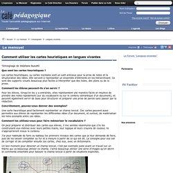 Comment utiliser les cartes heuristiques en langues vivantes