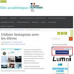 Utiliser Instagram avec les élèves