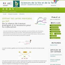 Utiliser les cartes mentales en SVT - Sciences de la Vie et de la Terre
