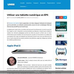 Utiliser une tablette numérique en EPS