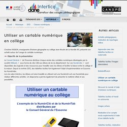 Numéritab 91 à Intertice 2013