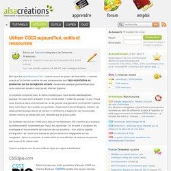 Utiliser CSS3 aujourd'hui, outils et ressources - Alsacréations