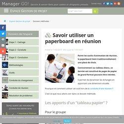 Utiliser un paperboard pour animer une réunion avec succès