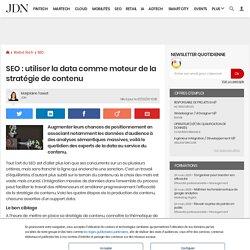 SEO: utiliser la data comme moteur de la stratégie de contenu