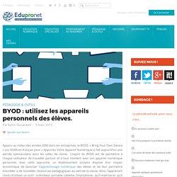 BYOD : utilisez les appareils personnels des élèves.