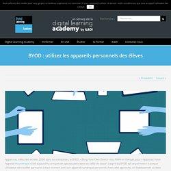 BYOD : utilisez les appareils personnels des élèves