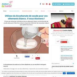 Utilisez du bicarbonate de soude pour vos vêtements blancs. Il vous étonnera ! - Améliore ta Santé