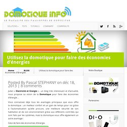 Gestion energie solutions pearltrees Gestion d energie domotique