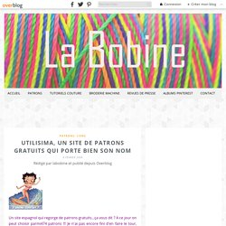 Utilisima, un site de patrons gratuits qui porte bien son nom