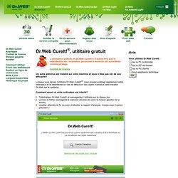Utilitaire désinfection antivirus Dr.Web CureIt!