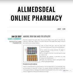 Allmedsdeal Online Pharmacy