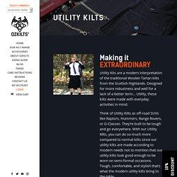 Utility Kilts - OZKILTS®