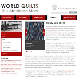 World Quilts: The American Story