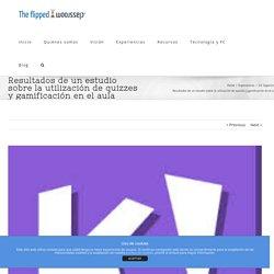 Resultados de un estudio sobre la utilización de quizzes y gamificación en el aula