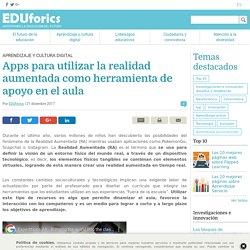 Apps para utilizar la realidad aumentada como herramienta de apoyo en el aula