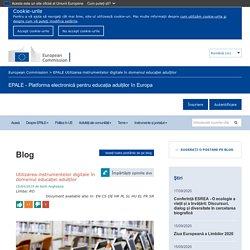 Utilizarea instrumentelor digitale în domeniul educației adulților