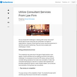 Hire Indian Utilize Consultant Services from a Reputed Law Firm