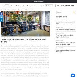 Tips to Utilize Your Office Space After Covid 19
